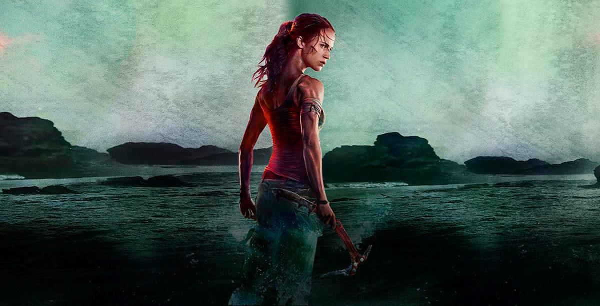 Tomb Raider Movie See The Epic Teaser Trailer Poster Raiding The Globe